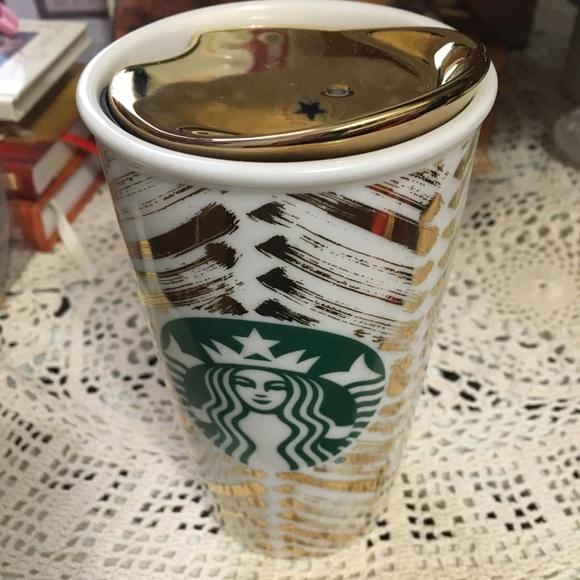 Starbucks ceramic tumbler